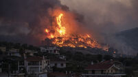 Greece Fire