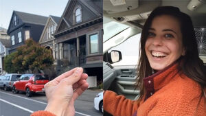Trader swaps hairpin for minivan, and will not stop until she has a house