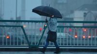 Weather warning issued for Munster and Leinster counties