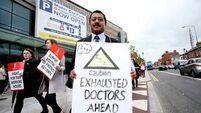 Striking doctors claim big support