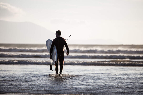 Inch Beach: A surfing paradise in Co Kerry.