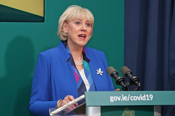 Minister for Social Protection, Community Rural           Development and the Islands, Heather Humphreys during a media           briefing on the July Jobs Stimulus in the Government Buildings           in Dublin. Picture: Julien Behal Photography