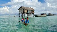 Children of Bajau Badjao Laut