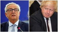 Juncker says 'still some problematic points' as Boris Johnson outlines plans to replace backstop