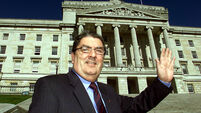 Social Democratic Labour Party's (SDLP) John Hume