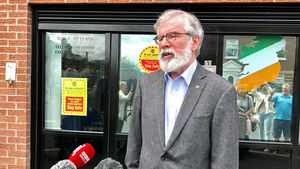 Gerry Adams pays tribute to John Hume as a 'giant in Irish politics'