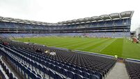 Schedule for All-Ireland Championship venues and times at an advanced stage