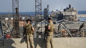 Lebanon tries to reopen roads around port explosion site