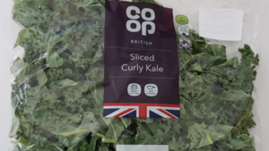 CO-OP recall curly kale packs that may have thistle