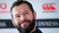 Andy Farrell faces man who looked after him as a teenager