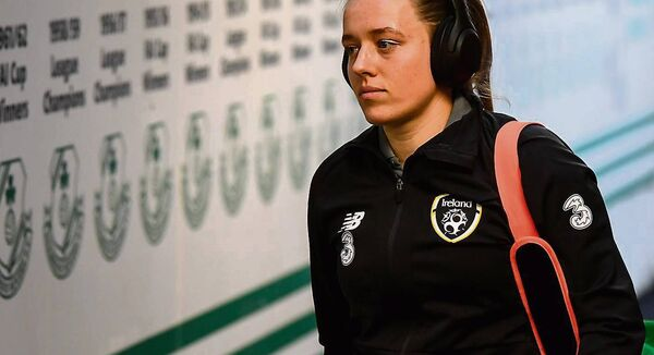 Republic of Ireland's Harriet Scott: 'With the squad that we have, it's potentially the best we've ever looked in terms of qualifying.'             	Picture: Stephen McCarthy