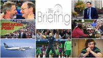 Catch-up with what you've missed so far today with our lunchtime briefing
