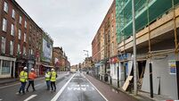 Calls for safety audit after city centre building collapse