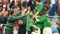 Donal Lenihan: A win that changed the course of Irish rugby
