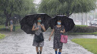North Korea Heavy Rains