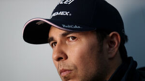 Sergio Perez out of 70th Anniversary Grand Prix after positive Covid-19 test
