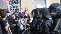 Germany Anti Eviction Protest