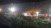 India Plane Crash Lands