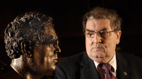 John Hume bust unveiled