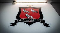 A view of the Dundalk crest 25/5/2018