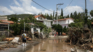 Storm on Greek island kills five, including baby