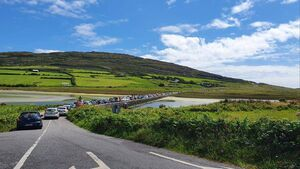 Locals complain of gridlock and vandalism as crowds descend on Cork and Kerry beaches