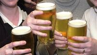 Doctors: Irish people 'do not need another reason to drink'