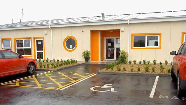 Three children have tested positive for Covid-19 at the creche in Meath. Picture: Daoine Oga Community Childcare Centre in Navan.