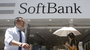 Tech firm Softbank reports 12% rise in first-quarter profits