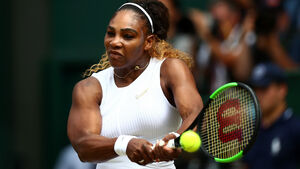 Williams makes winning, but not totally Seren-e, return to WTA Tour