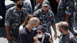 Beirut falls silent to remember those killed in massive explosion