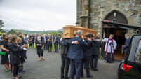 'Real poetry that they were taken together': West Cork's Paddy Sheehan buried alongside his beloved wife