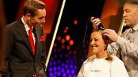 VIDEO: Surge in donations after Majella O'Donnell shaves head on Late Late