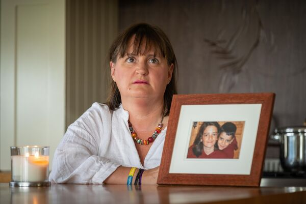 Kathleen Chada says she will never get over the loss of her         two boys and that the sense of injustice will never leave her.         Picture: Dylan Vaughan