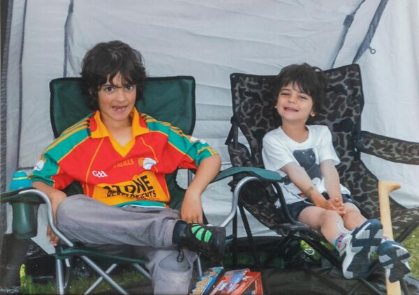 Eoghan was 10 and Rurarí was 5 when they were killed.         Picture: Dylan Vaughan