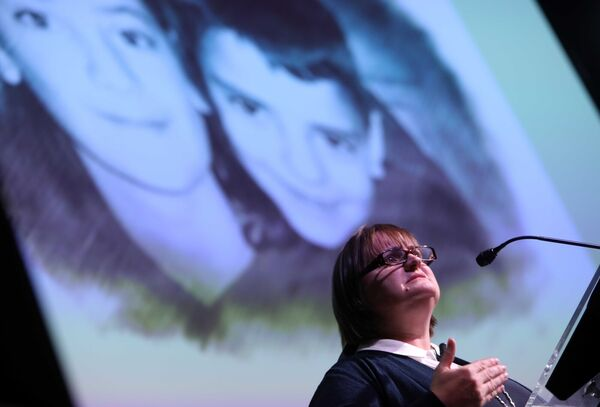 Kathleen Chada speaking at the Safe World Summit opening         ceremony in 2018. Picture: Leah Farrell/RollingNews.ie