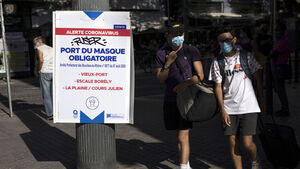 France mandating masks at all workplaces as virus reawakens