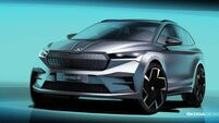 Skoda charge into electric world with Enyaq iV