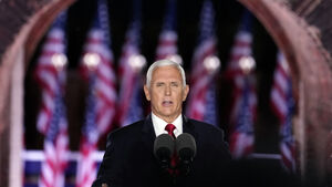 Mike Pence defends police at convention amid rising race tension