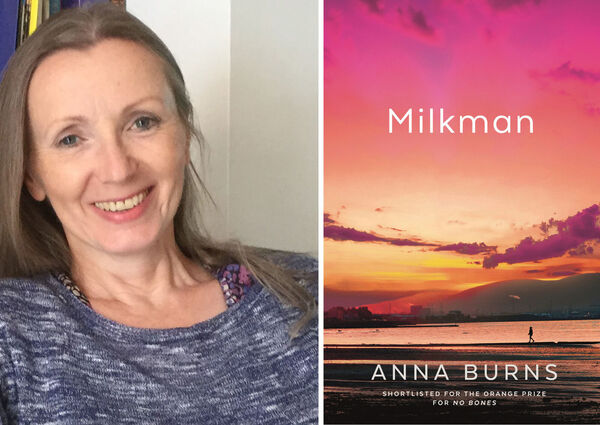 Irish author Anna Burns is nominated for Milkman.