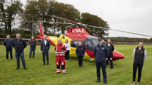 Grand National winner helps keep air ambulance operational: 'You never know if you'll need it like I did'