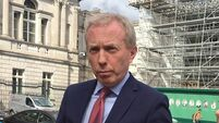 Dooley apologises as footage emerges of him with Collins in Dáil ahead of vote