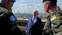 President Higgins and Defence Minister evacuated from hotel in Lebanese capital