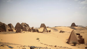 Archaeological site under threat in Sudan from floods which have killed dozens