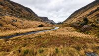 Nature and landscape at Glenveagh National Park in Donegal Ireland