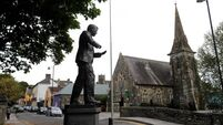 Drunk driver 'bumped into statue of national hero' Michael Collins