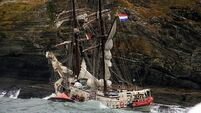 Rescued teenage crew from wrecked tall ship praise emergency training