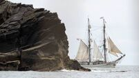 30 rescued from distressed tall ship in major operation off Cork coast