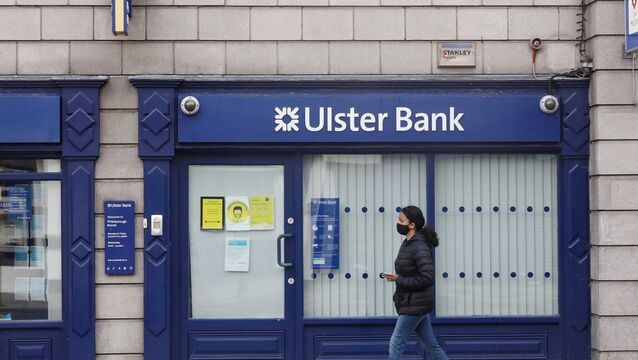 <p>An Ulster Bank branch in Dublin. Picture: Leah Farrell/Rollingnews.ie</p>