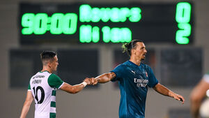 Zlatan Ibrahimovic Lives Up To Star Billing On Night That Deserved Tallaght Full House